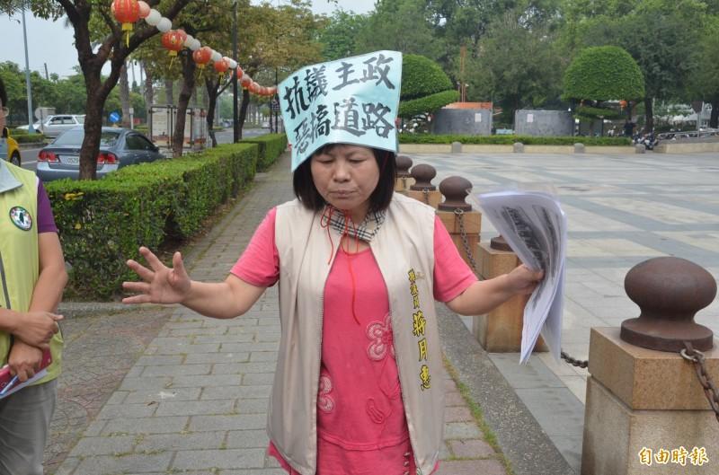 蔣月惠有「女柯P」稱號,如今同樣面臨遭「退讚」命運。(資料照)