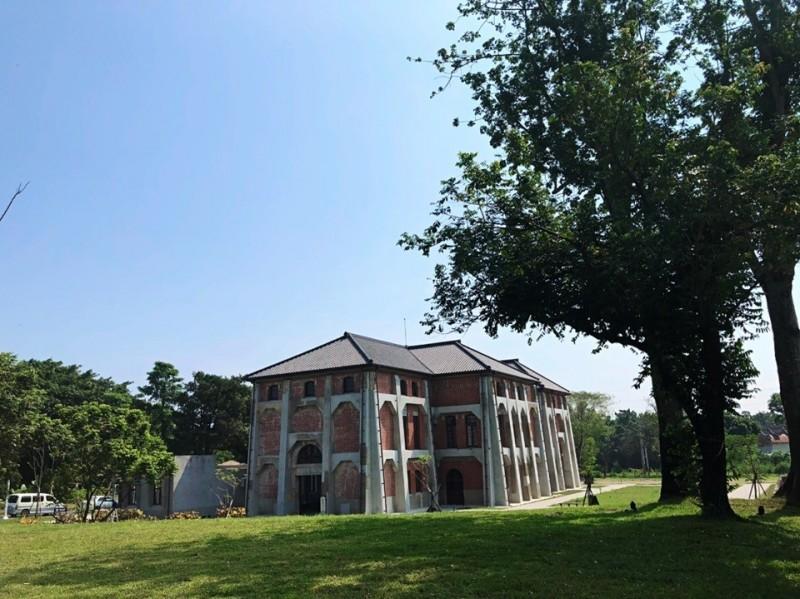 台南「山上花園水道博物館」,將於10月10日正式開園亮相。(南市副市長王時思提供)
