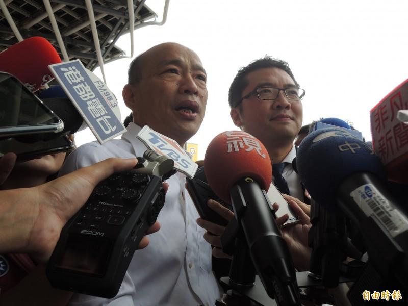 高雄市長韓國瑜傳11月訪美。(資料照)