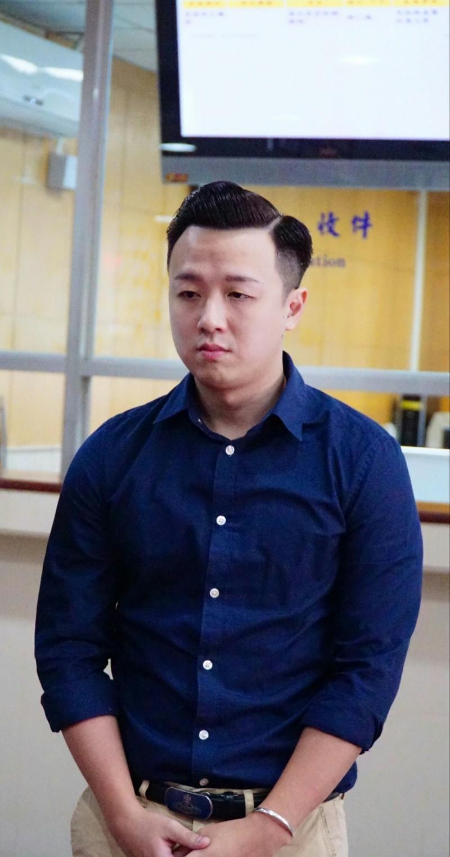 國民黨「草協聯盟」發起人李正皓遭國民黨「留校察看」。(資料照)