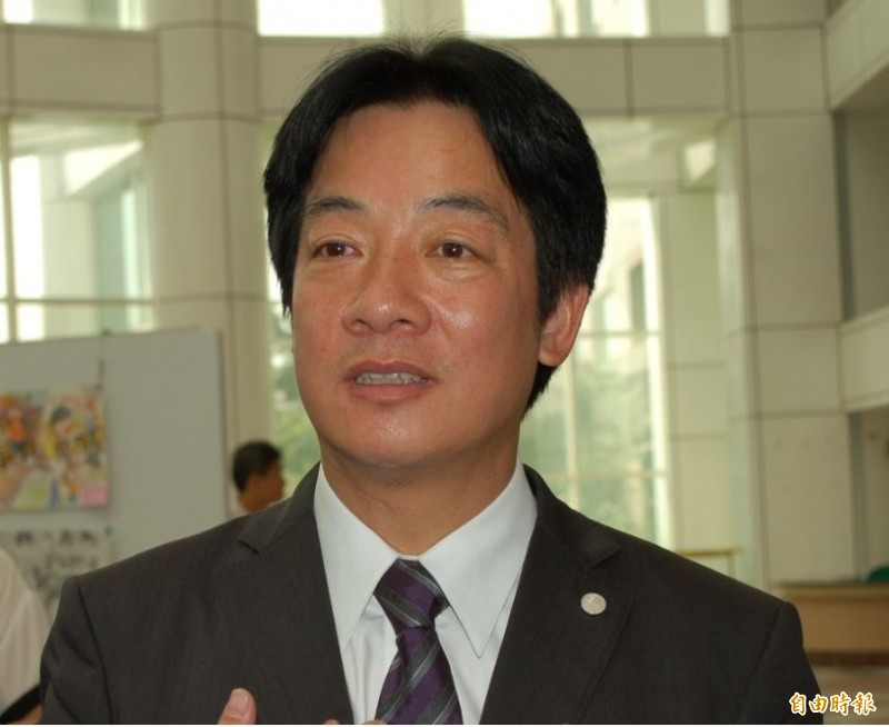 前行政院長賴清德將訪美為總統蔡英文助選,他表示將以「團結台灣」為主題演講。(記者洪瑞琴攝)