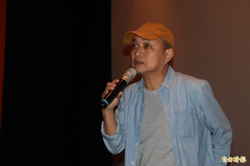 導演鄭文堂說,香港即將戒嚴,在這個時代氣氛下看這部片,難怪香港人會哭,他的香港朋友這部片都無法掩飾感情。(記者林敬倫攝)