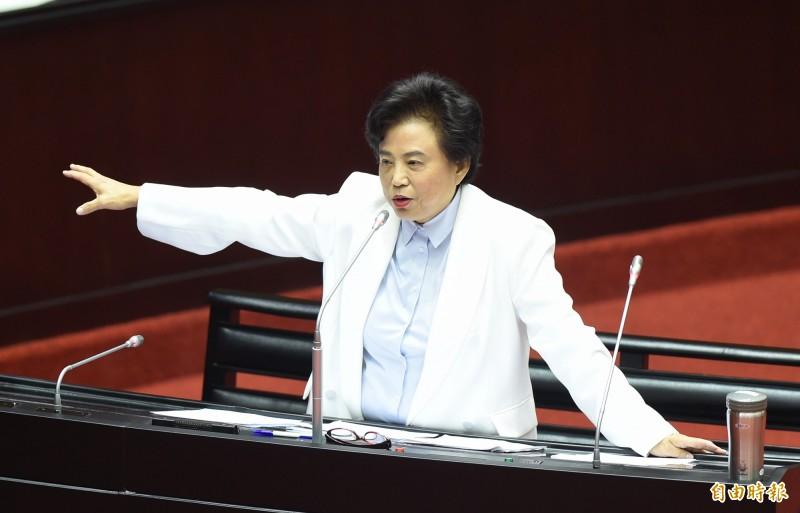 國民黨立委沈智慧今日赴立院質詢有關死刑、台中市預算經費、教育等問題。(資料照)