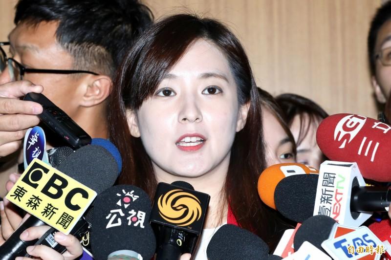 韓國瑜競辦發言人何庭歡認為,現在韓國瑜選情低迷,是因為不實報導和惡意抹黑所致。(資料照,記者塗建榮攝)