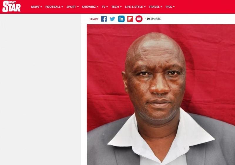 51歲男子萬約克日前到肯亞穆蘭加的傳統部落作客,沒想到隔天醒來發現,「寶貝」被友人割掉吞食。(圖擷取自「DAILY STAR」)