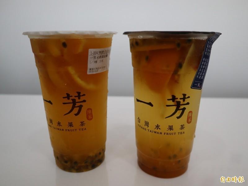 手搖飲料店「一芳水果茶」因日前在微博發文支持一國兩制、譴責香港罷工,讓台灣網友發起「拒買」活動。(資料照,記者歐素美攝)