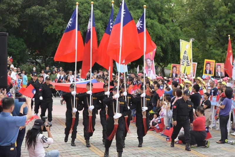 新竹縣政府表示,將於10日上午舉辦桃竹竹苗地區唯一一場官方的國慶升旗典禮。(新竹縣政府提供)
