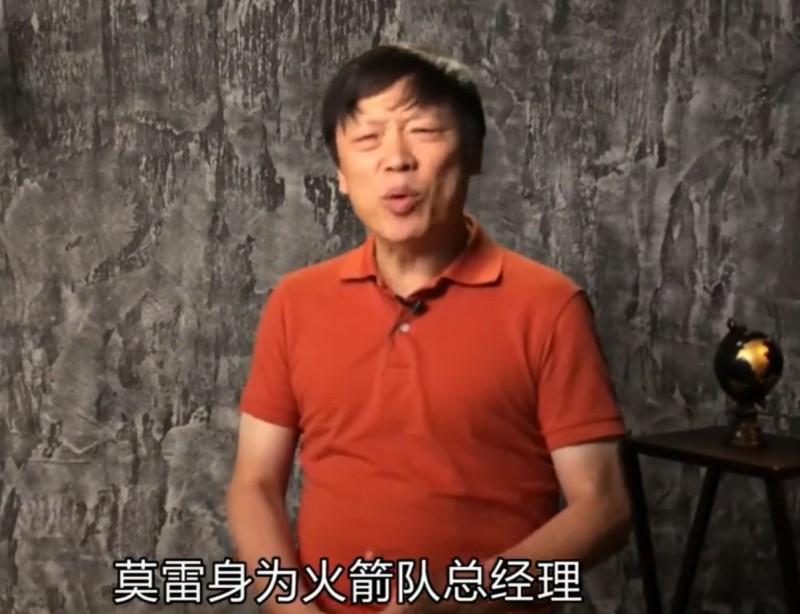 中國各界揚言抵制NBA,但《環球時報》總編輯胡錫進認為,中國官方不應該參與此事。(圖擷取自胡錫進微博)