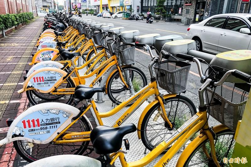 常在全國空氣品質墊底的屏東縣潮州鎮,對設置公共自行車Pbike的呼聲不斷。(記者邱芷柔攝)