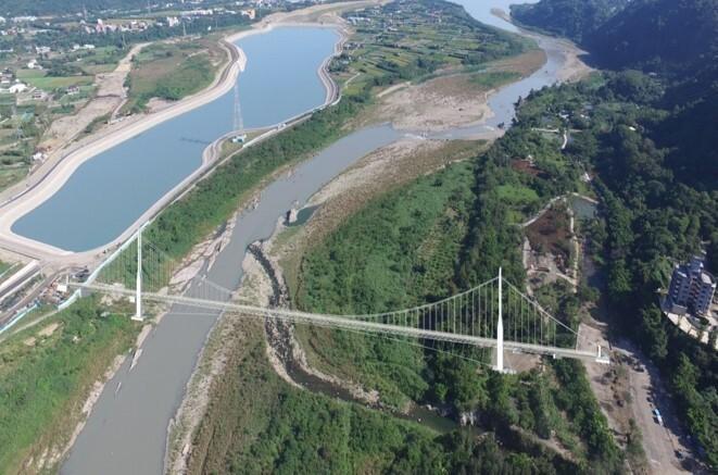 「大漢溪親水園區休閒計畫」低度開發。(水務局提供)