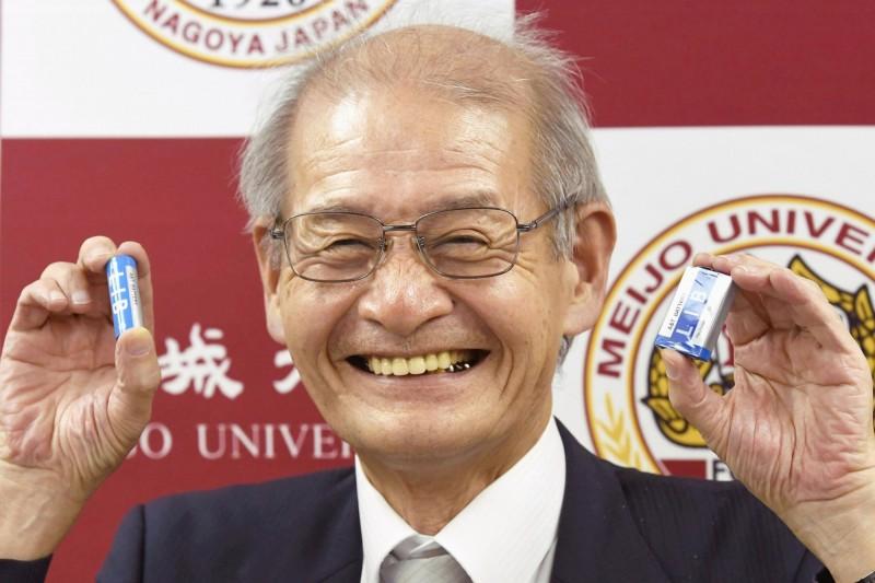日本化學家吉野彰。(美聯社)