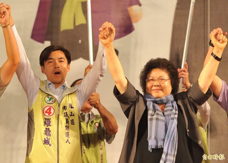 台灣民眾黨搶攻國會,傳出第二波提名名單,其中包括昔日陳菊子弟兵、曾為高雄市議會「六小福」的前議員羅鼎城(左)。(資料照)