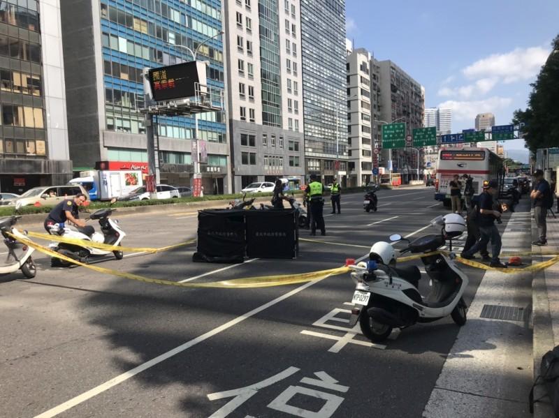 北市女騎士疑遭機車擦撞 倒地慘遭公車輾斃