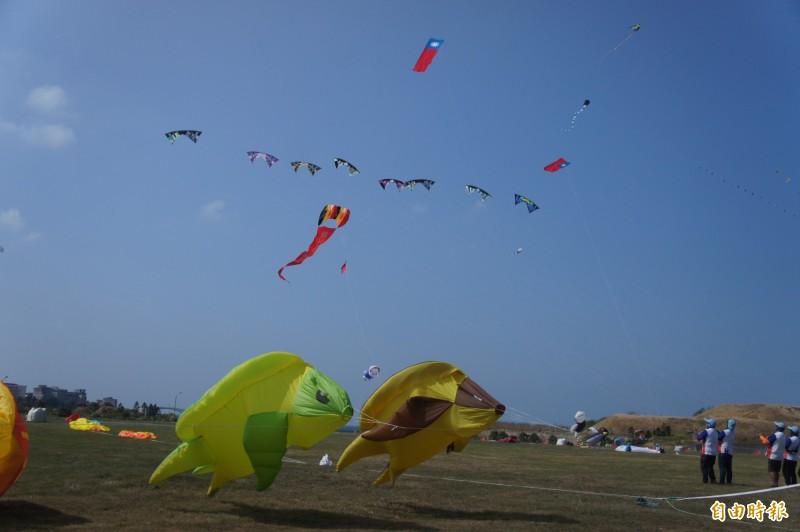 菊島風箏國旗飛揚 澎湖舉行別開生面雙十典禮