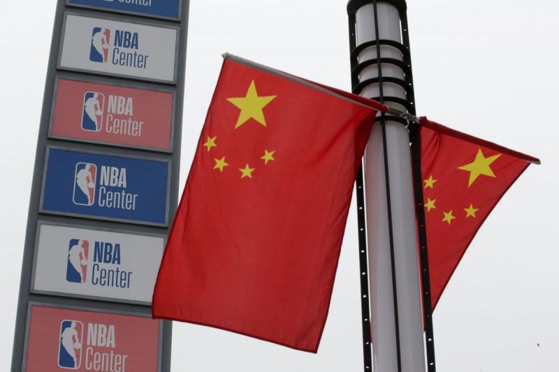 NBA深耕中國多年,該國受影響的產業鏈範圍既廣且深。(路透)