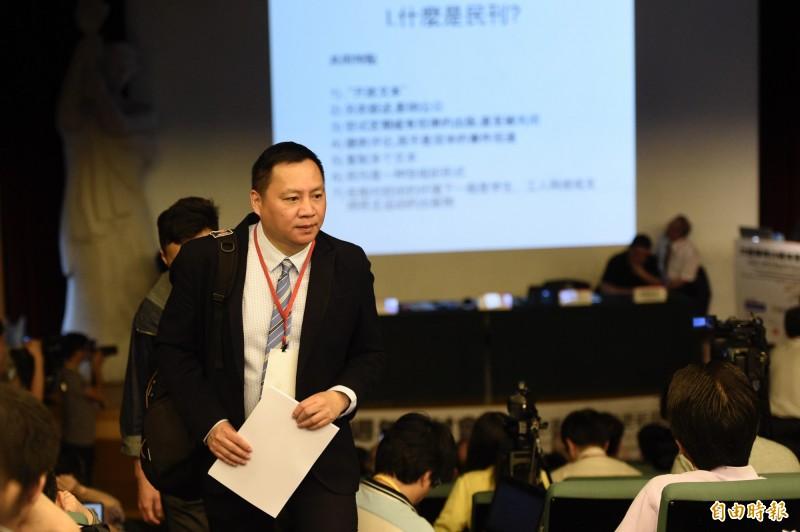 中國民運人士王丹。(資料照)