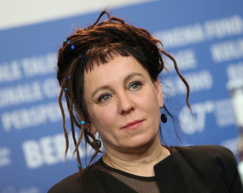 波蘭女作家奧爾嘉·朵卡萩。(路透)