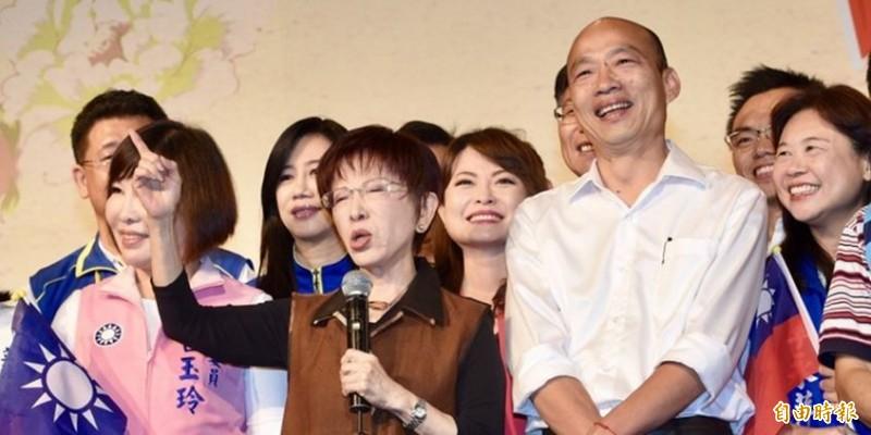 范世平認為,洪秀柱與韓國瑜同調,認為香港反送中是暴亂,若此說法能獲得年輕人認同,「那就繼續說吧」。(資料照)