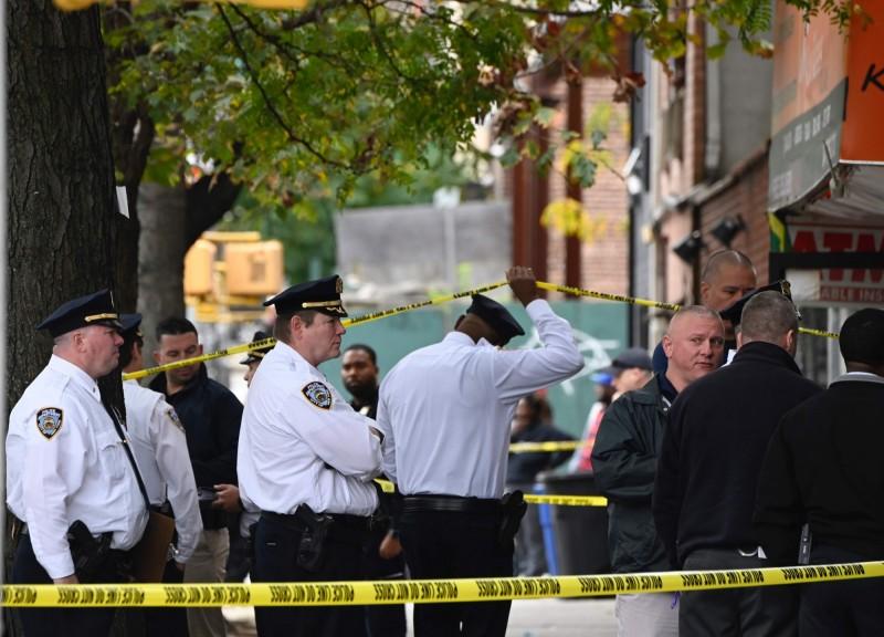 美國紐約布魯克林一處私人俱樂部在12日當地時間早上7點驚傳槍擊,共造成4人死亡3人重傷。(法新社)