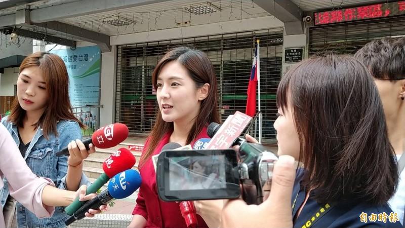 國民黨總統提名人韓國瑜競選辦公室發言人何庭歡今天表示,目前競辦已在規劃「產業學習與傾聽土地之旅」,行程定案後將盡快公布。(記者賴筱桐攝)