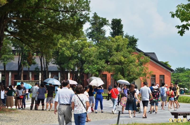把握免費機會!水道博物館4天湧12萬人 台南市民比例高達...