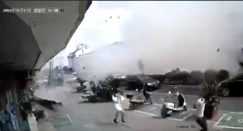中國無錫小吃店驚傳恐怖氣爆 釀6死9傷