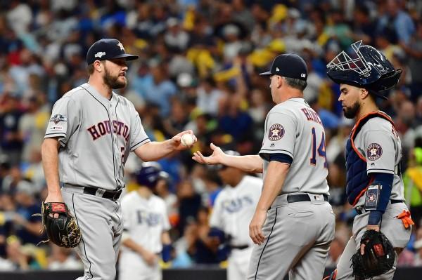 MLB》放掉例行賽14勝先發 太空人「全右投」對決洋基