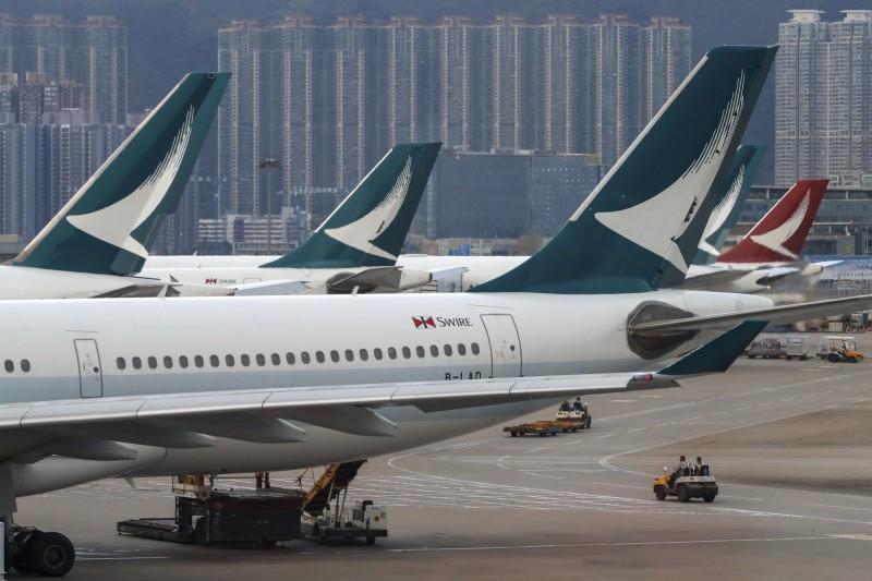 國泰航空今日台日航班受颱風影響異動。圖為示意圖。(資料照)