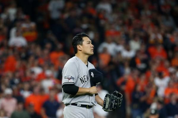 MLB》田中將大68球絕好調被換下場 布總說明理由