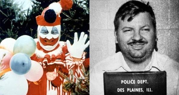 「殺人小丑」蓋西經常將自己扮成小丑,降低民眾戒心藉此下手。(翻攝自網路)