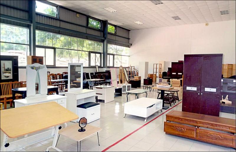 新竹縣二手再生家具 展示網頁上線