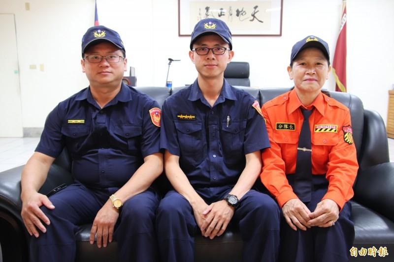 新埔分局「囍上加喜」竹縣唯3全國績優交通警察、義交都在這裡