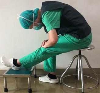 醫病》腳麻走不動 脊椎內視鏡輔助微創手術 隔天就下床走路