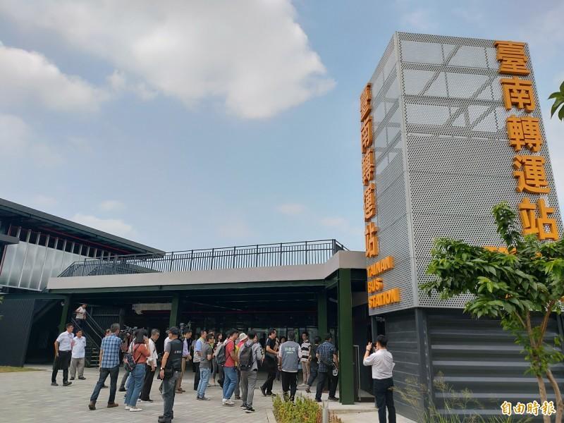 國道客運將進駐 台南轉運站預計年底試營連