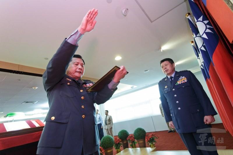 新政戰局長布達典禮  簡士偉宣誓就職