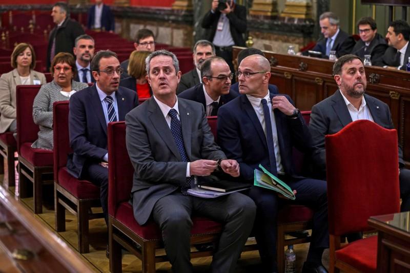 加泰隆尼亞獨派9領袖 遭西班牙高院重判9至13年徒刑