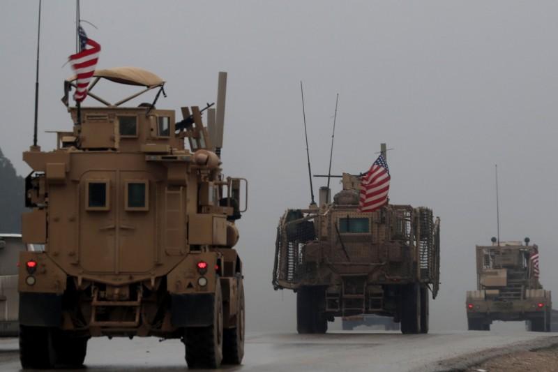 傳川普下令撤離敘國北部千名美軍。(法新社)