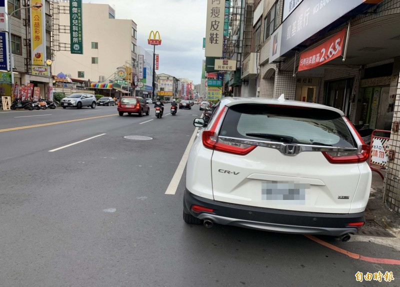 車輛違停。示意圖。(資料照)