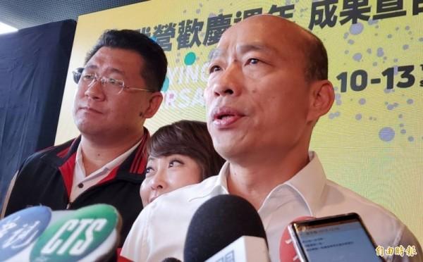 韓邀小英辯論 她嗆「為何不先完成市長職責」