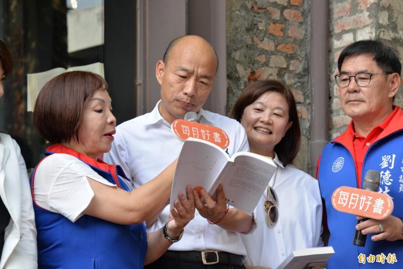 林濁水諷刺,韓競辦看似在逼蔡英文,實際上是在逼韓國瑜。(資料照)