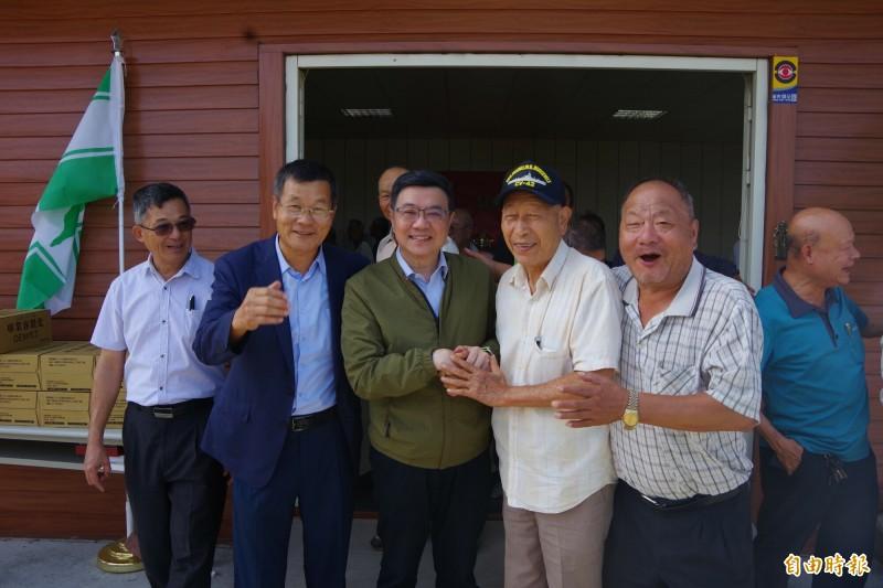 韓國瑜放「韓假」,卓榮泰表示國人會很羨慕。(記者蔡政珉攝)