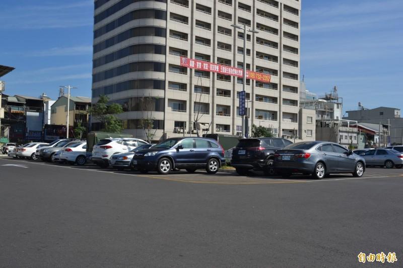 屏東市區將興建2座立體停車場,經費達6.8億元。(記者侯承旭攝)