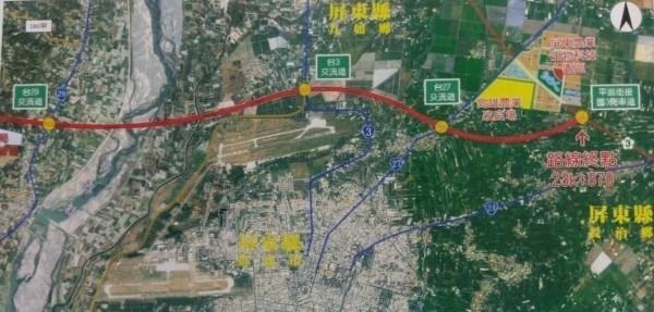 高鐵延伸屏東 兩黨選將:不影響第2條高屏快速道路闢建