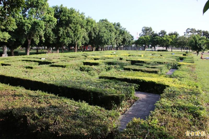 運動公園「綠迷宮」將拆除改建 竹南鄉親喊不捨