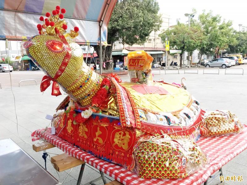 盼恢復「博大龜」傳統 台南仁壽宮信眾自推乞龜活動