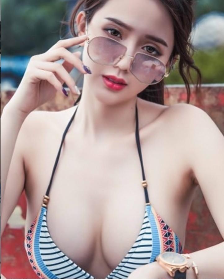 辣模子涵在網路上人氣頗高。(翻攝自子涵IG)