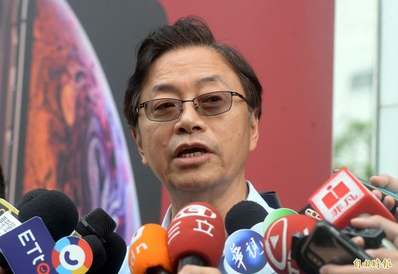 韓國瑜國政顧問團總召張善政今日表示,韓陣營希望就兩岸、國防、能源及長照醫療等議題,與蔡英文一項一項來辯論。(資料照)