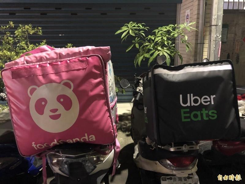 美食平台外送員近日頻傳車禍意外,國慶連假期間「foodpanda」和「Uber Eats」就各有1名外送員在外送途中車禍身亡。圖為示意圖。(資料照)