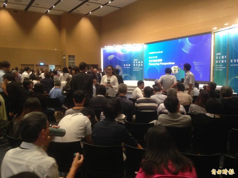 亞太循環經濟論壇 18國講者聽Gogoro經驗