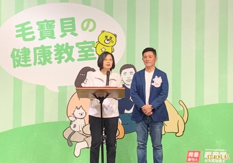 蔡英文點名鄭宏輝 與林智堅組連線進立院推0-6歲托育政策